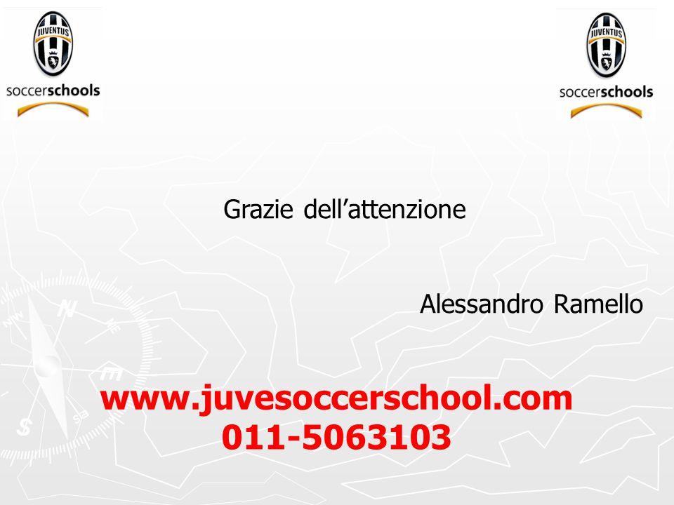 Grazie dell'attenzione Alessandro Ramello www.juvesoccerschool.com 011-5063103
