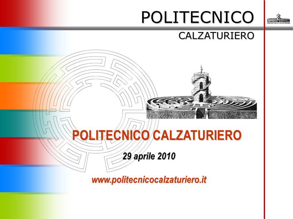 POLITECNICO CALZATURIERO 29 aprile 2010 www.politecnicocalzaturiero.it