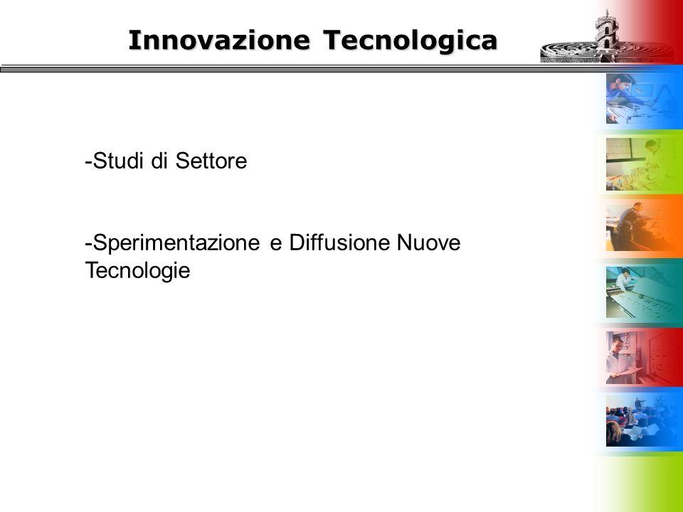 Innovazione Tecnologica -Studi di Settore -Sperimentazione e Diffusione Nuove Tecnologie