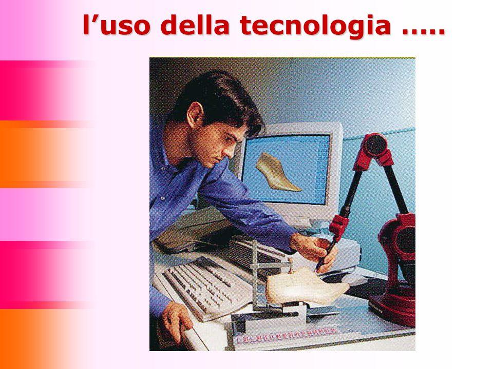 l'uso della tecnologia …..