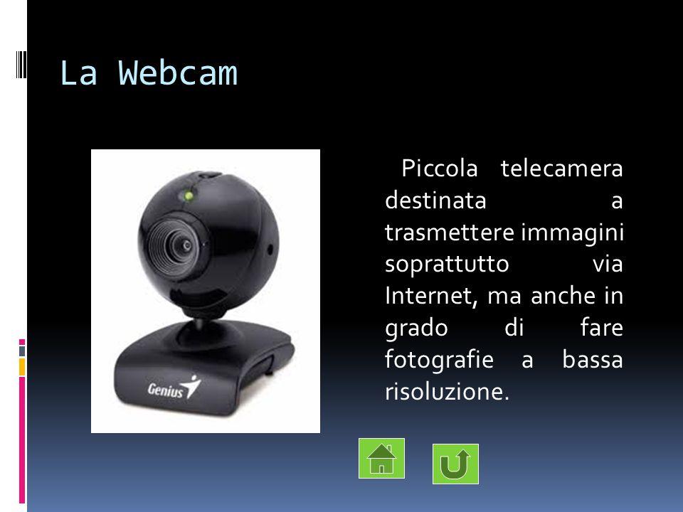 La Webcam Piccola telecamera destinata a trasmettere immagini soprattutto via Internet, ma anche in grado di fare fotografie a bassa risoluzione.