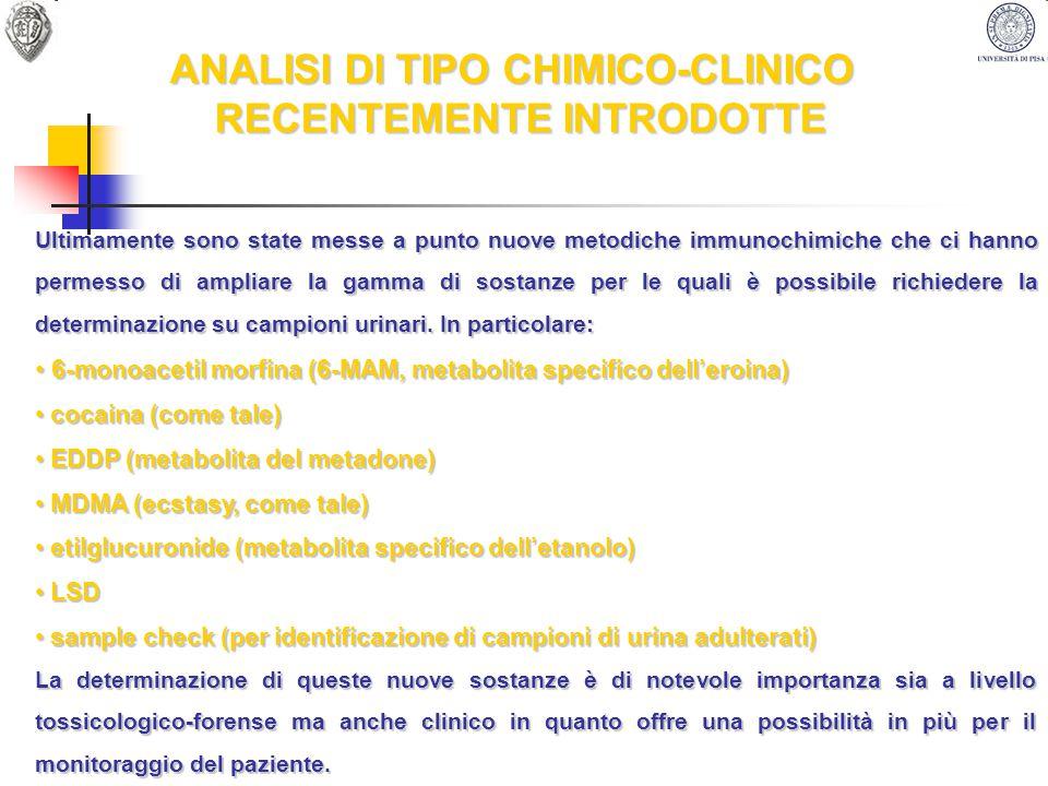 DOTAZIONE STRUMENTALE TECNICHE CROMATOGRAFICHE 1 GC FOCUS CON DETECTOR FID 1 GC FOCUS CON DETECTOR DI MASSA A SINGOLO QUADRUPOLO (DSQII) ENTRAMBI GESTITI DA AUTOCAMPIONATORE TRIPLUS (THERMO FINNIGAN) 1 GC TRACE CON DETECTOR MS/MS A TRAPPOLA IONICA (POLARIS Q) CON AUTOCAMPIONATORE AS2000 (THERMO FINNIGAN) 1 GC MS QP 2010 ULTRA SHIMADZU SINGOLO QUADRUPOLO CON AUTOCAMPIONATORE 1 GC 9000 (FISONS) CON DETECTOR FID 1 HPLC PERKIN HELMER LC 250 CON DETECTOR DAD 235 1 LC MS AD ALTA RISOLUZIONE (ACQUISTO IN PROGRAMMAZIONE)