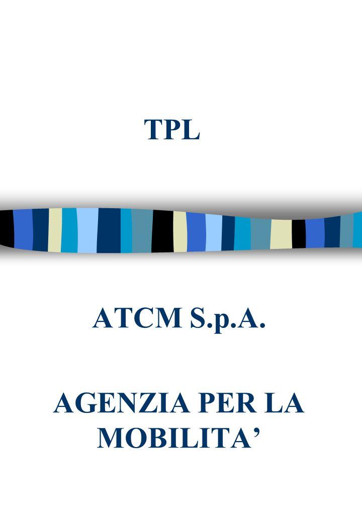 TPL ATCM S.p.A. AGENZIA PER LA MOBILITA'