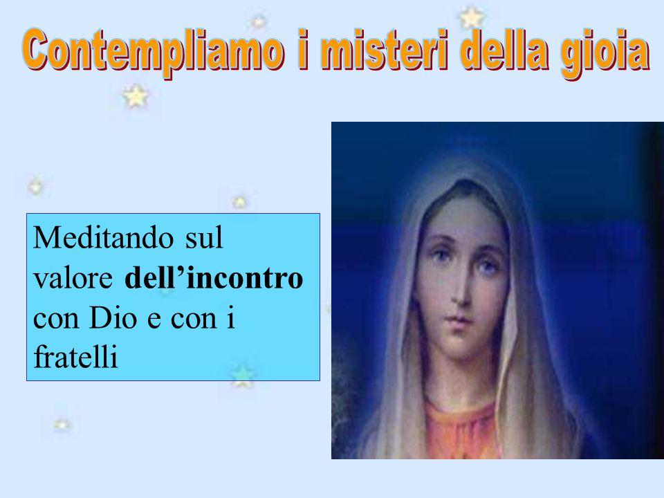 Preghiamo dunque, o fratelli; accorriamo ai piedi della Vergine, donde si spargono su tutta la terra le acque vive della pietà e dell'amore soavissimo di Dio.