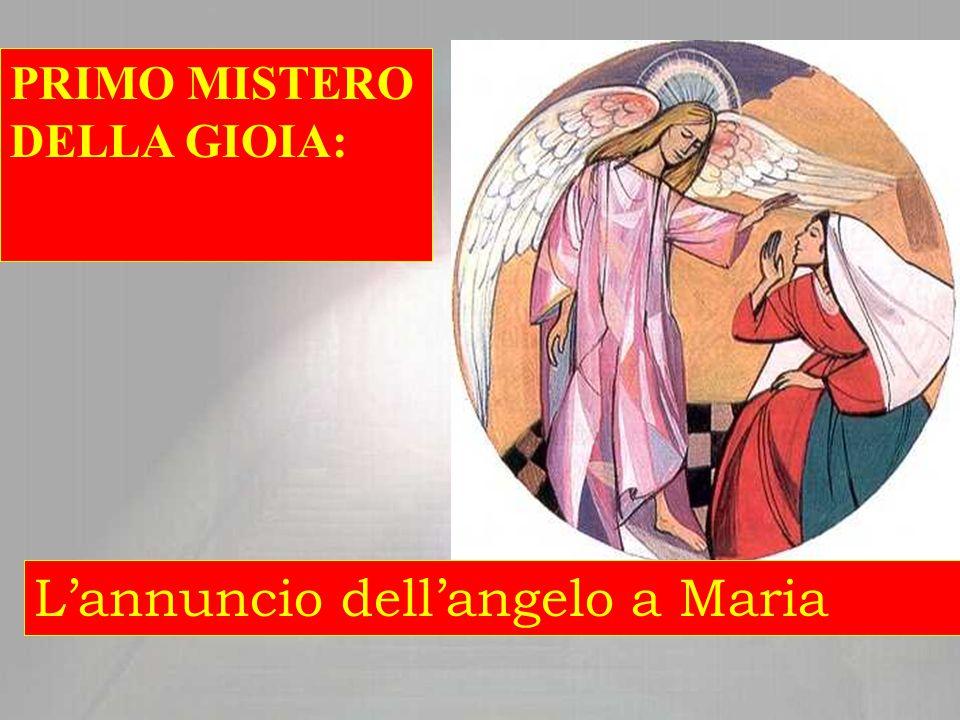 Maria con il suo sì accetta che Dio disponga e usi della sua persona per entrare nella storia di ogni uomo.