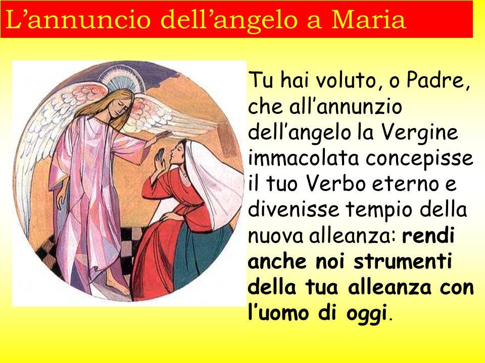Simeone dice a Maria: Anche a te una spada trafiggerà l'anima e indica la Madre come prima alleata e collaboratrice di Gesù per la salvezza del mondo.