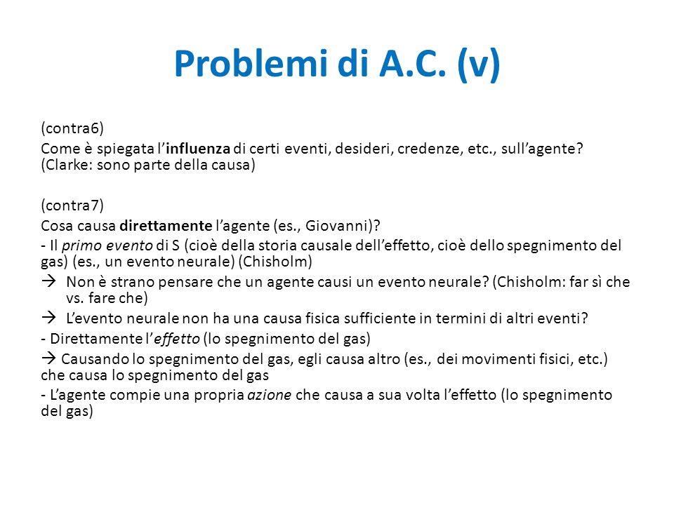 Problemi di A.C.