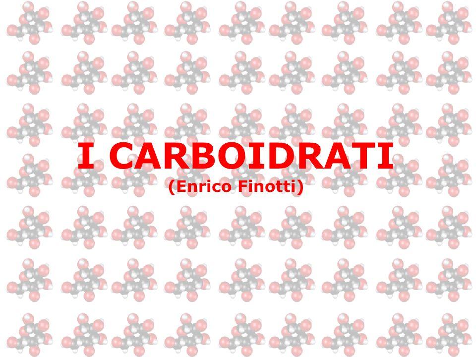 I CARBOIDRATI (Enrico Finotti)