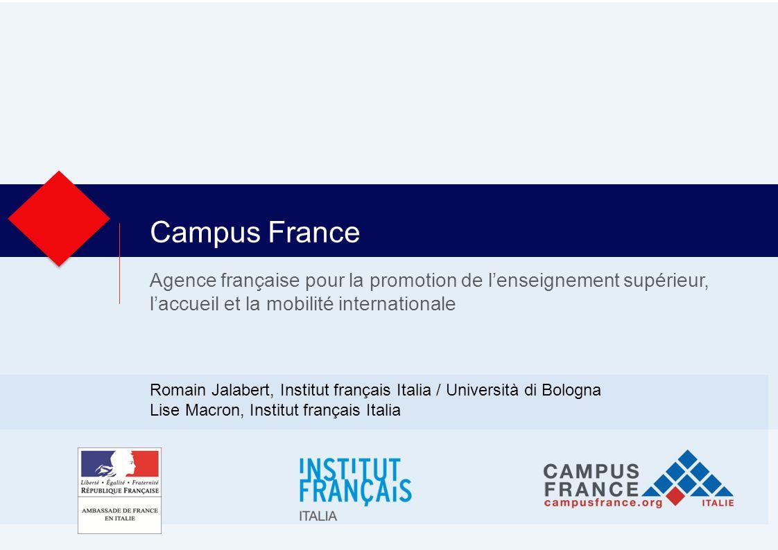 2 Campus France Italie Dove siamo.
