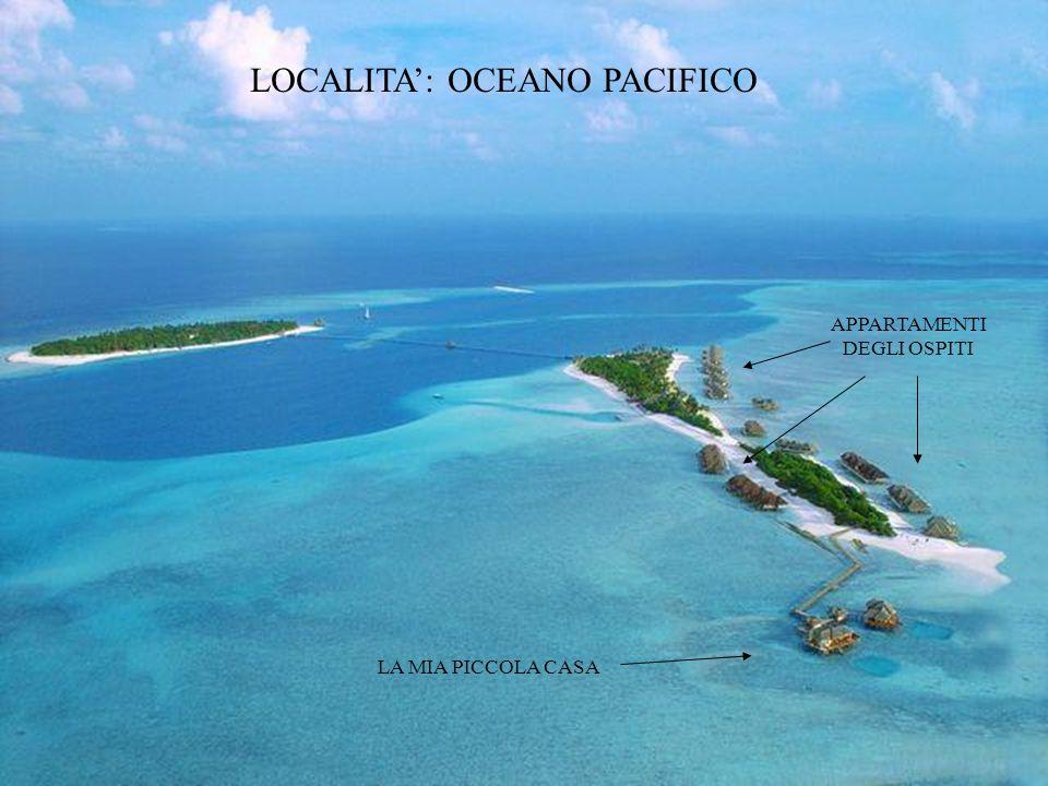 LOCALITA': OCEANO PACIFICO APPARTAMENTI DEGLI OSPITI LA MIA PICCOLA CASA