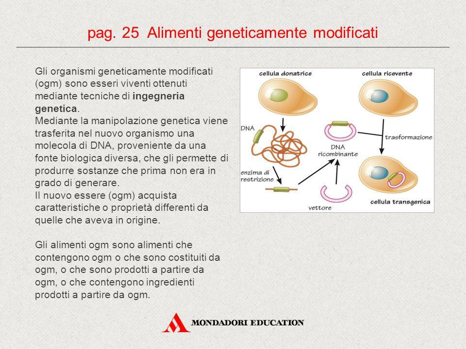 Gli organismi geneticamente modificati (ogm) sono esseri viventi ottenuti mediante tecniche di ingegneria genetica. Mediante la manipolazione genetica