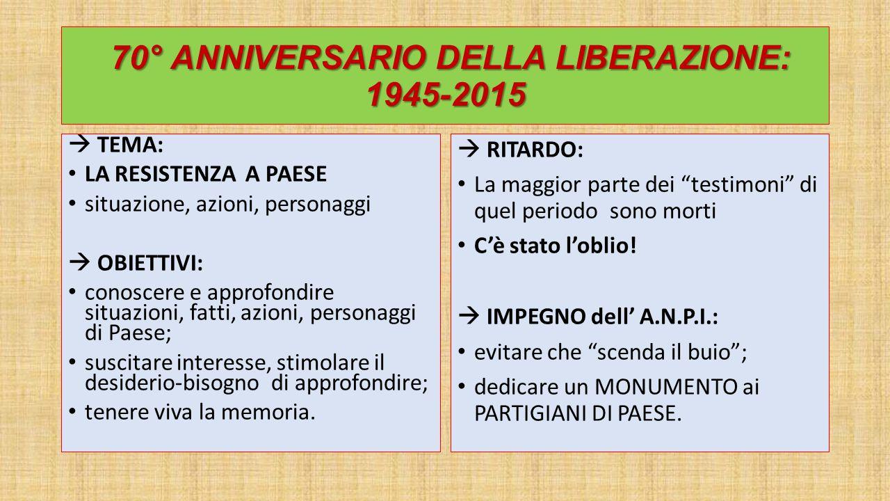 IL COMUNE DI PAESE Il comune di Paese assume l'attuale configurazione geografica nel 1920 quando la frazione di Monigo viene aggregata al comune di Treviso.