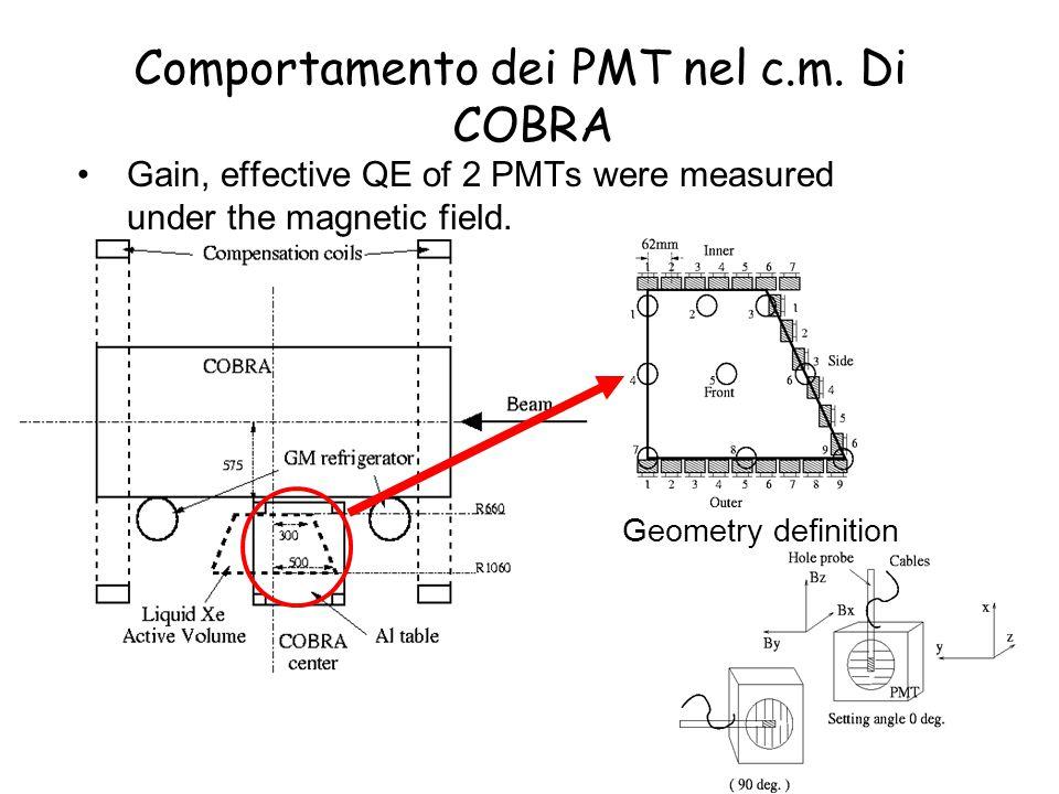 A.Baldini: Assisi 21 sett.2004 Gain&Eff.QE under mag.