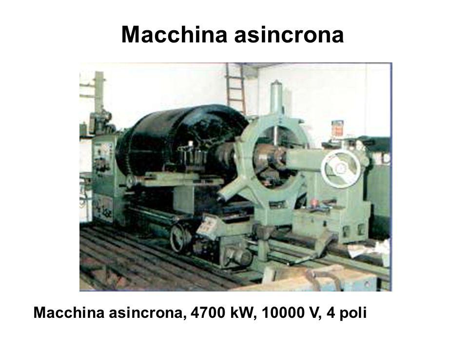 Macchina asincrona Macchina asincrona, 4700 kW, 10000 V, 4 poli