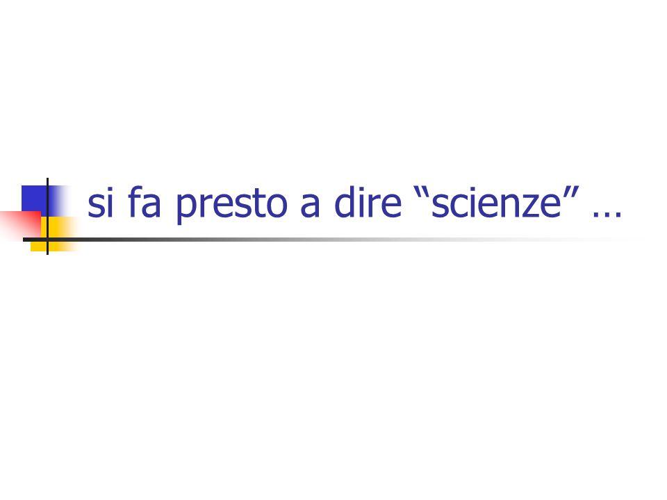 3 di che cosa parliamo in questo momento il tema è caldo per i deludenti risultati nella classifica PISA per il dibattito sulla riforma del secondo ciclo per le polemiche sul rapporto scienza / etica ma il termine scienze non è univoco soprattutto quando si tratta di insegnarle viene usato in almeno tre accezioni: quella euclidea quella galileiana quella pragmatica