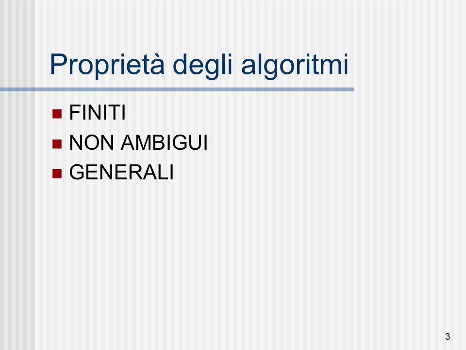 4 Soluzione di ax 2 +bx+c=0 1.inizio dell'algoritmo; 2.