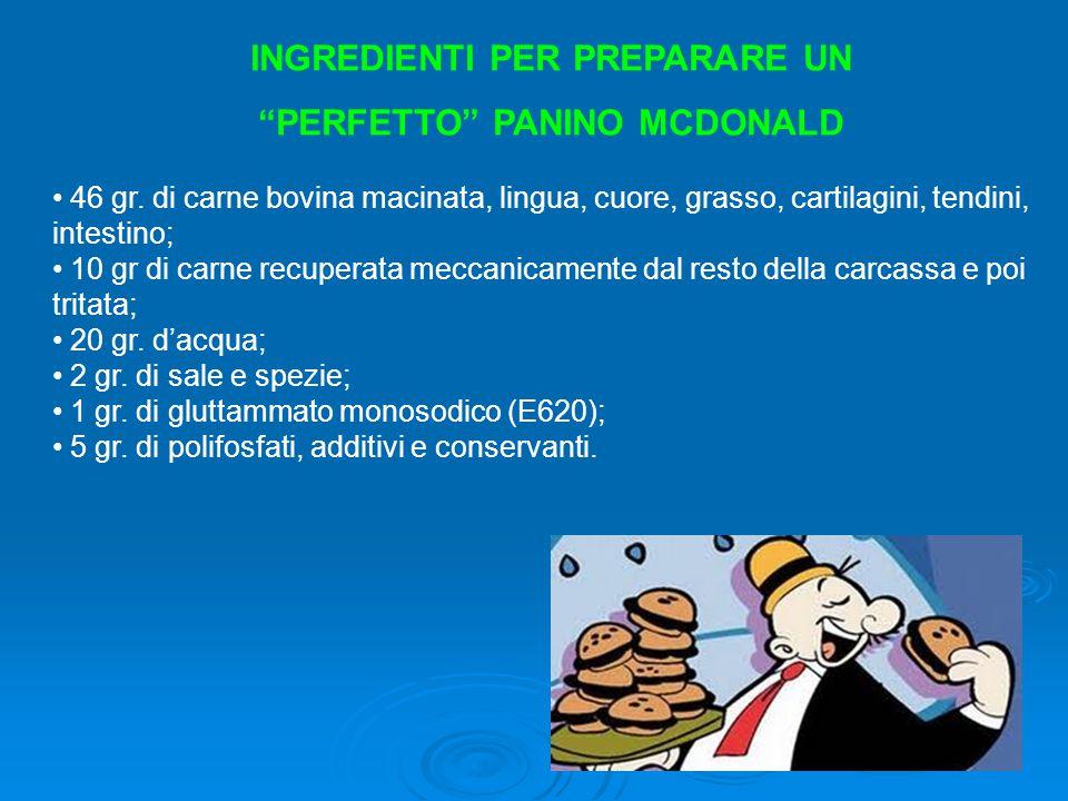 E414: gomma arabica.Si trova nelle salse e nei donuts di McDonald's: può provocare riniti e asma.