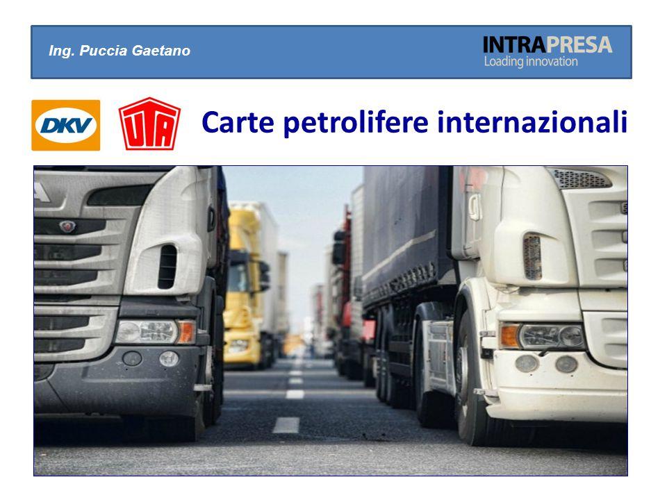 Ing. Puccia Gaetano Carte petrolifere internazionali