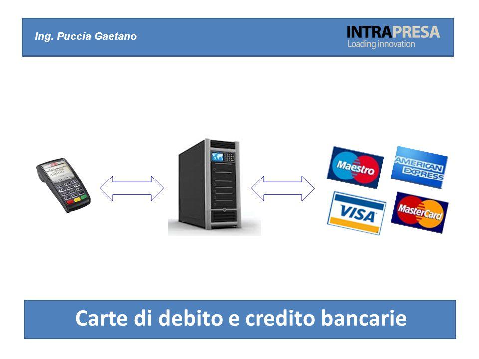 Ing. Puccia Gaetano Carte di debito e credito bancarie