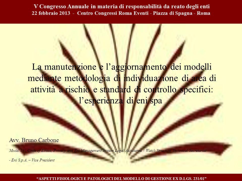 La responsabilità degli enti per i reati associativi (2/3)  L'art.