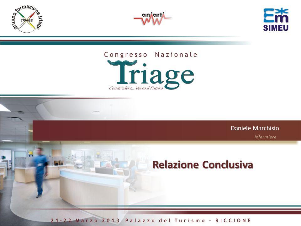 Daniele Marchisio Infermiere Relazione Conclusiva Relazione Conclusiva