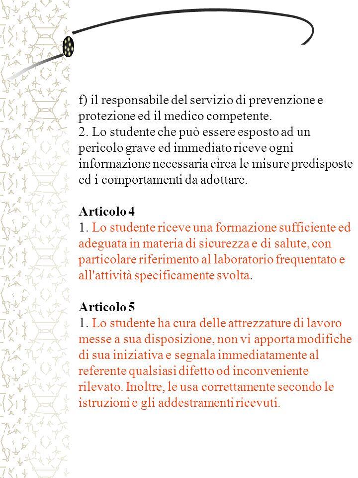 Articolo 6 1.