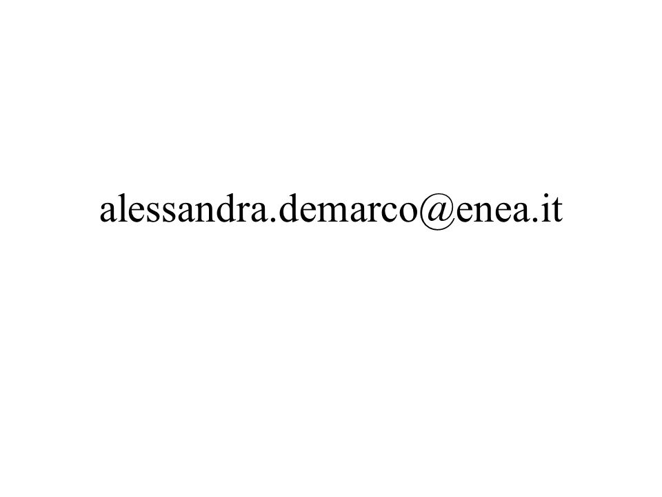 alessandra.demarco@enea.it
