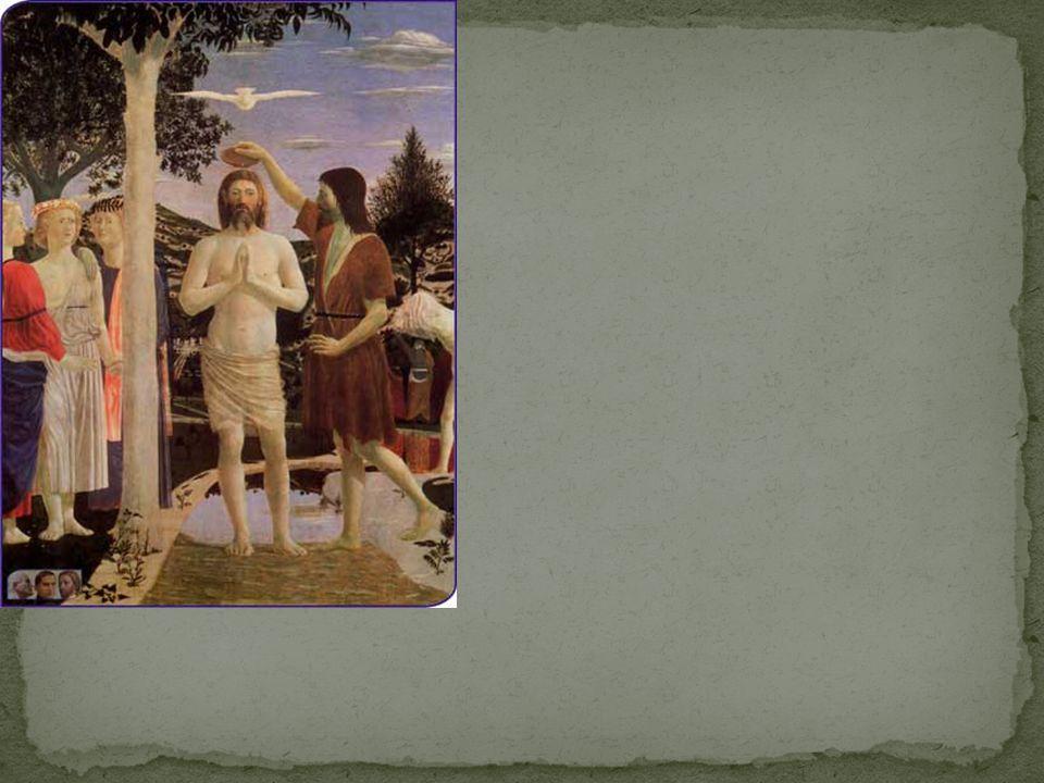 Autore:Piero della Francesca Vangelo: Dopo il sabato, all alba del primo giorno della settimana, Maria di Màgdala e l altra Maria andarono a visitare la tomba.