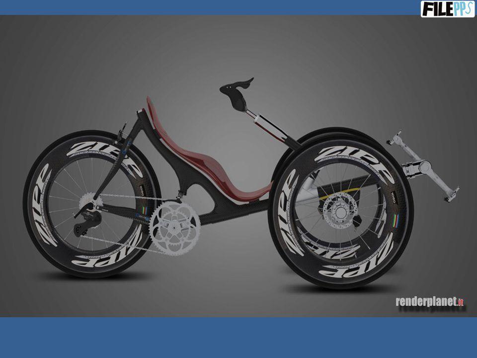 Biciclette supermoderne di design, da corsa e da passeggio, a tre ruote …