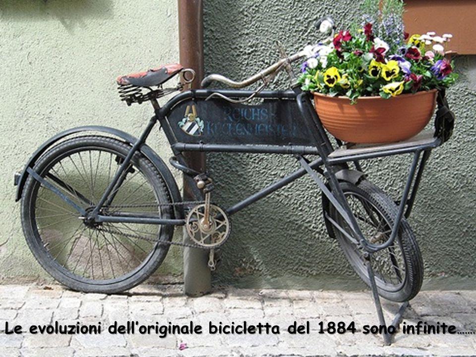 Nel 1889 venne costruita pure la Ladies safety bicycle , la prima bicicletta da donna.