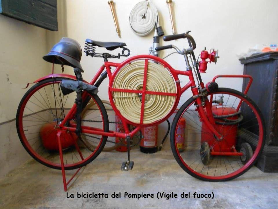 La bicicletta del Pompiere (Vigile del fuoco)