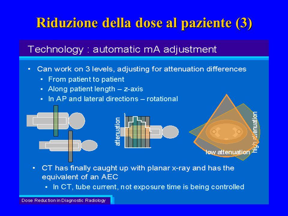 Riduzione della dose al paziente (3)