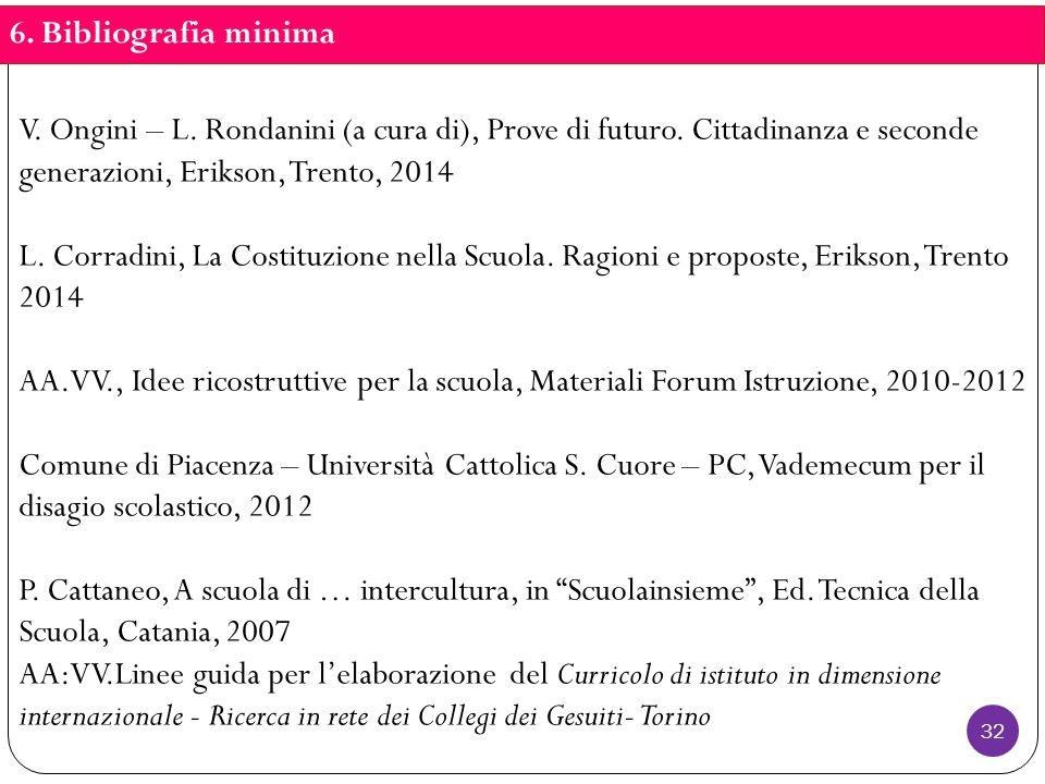 V. Ongini – L. Rondanini (a cura di), Prove di futuro.