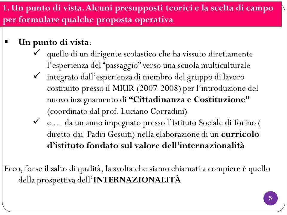6 2.Cittadinanza e seconde generazioni: quali gli elementi di criticità.