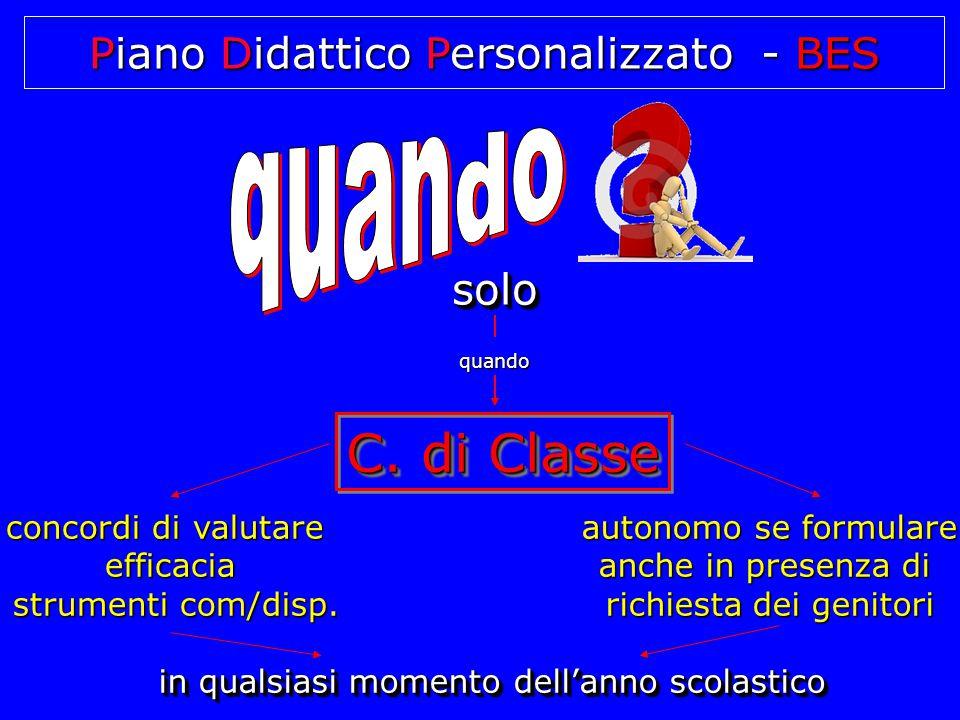 Piano Didattico Personalizzato - D.S.A.