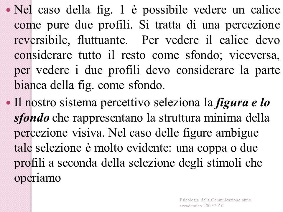 Nel caso della fig.1 è possibile vedere un calice come pure due profili.