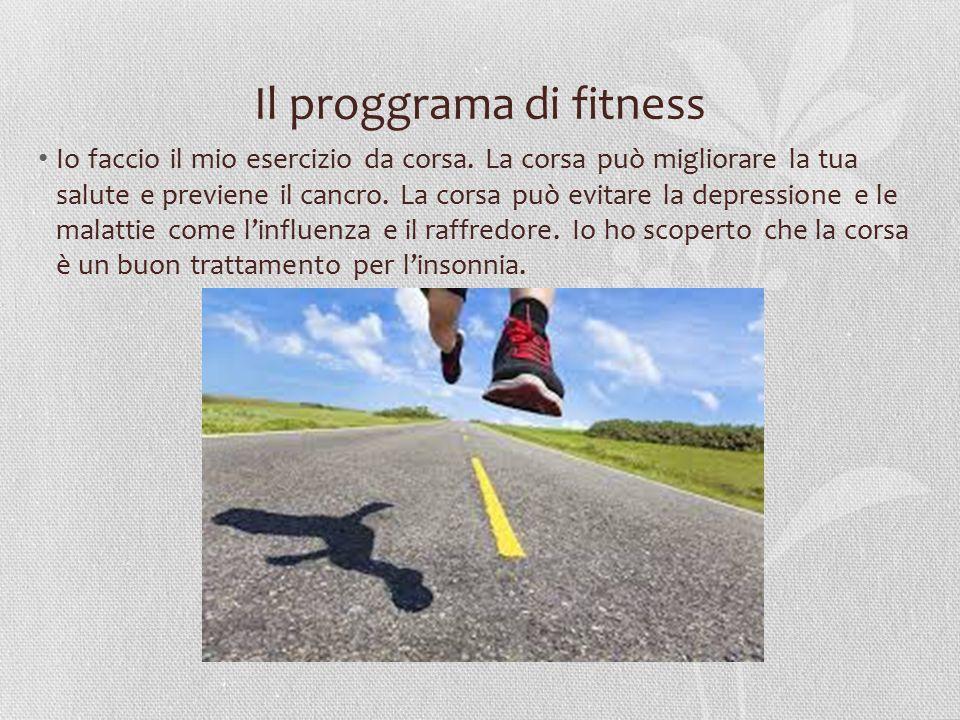 Il proggrama di fitness Io faccio il mio esercizio da corsa. La corsa può migliorare la tua salute e previene il cancro. La corsa può evitare la depre