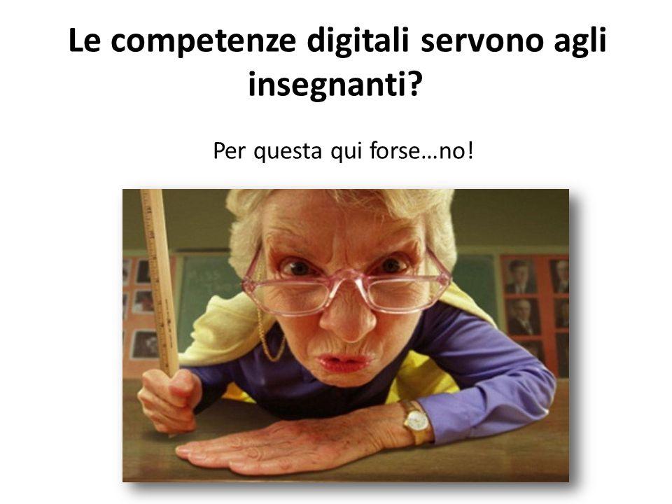 Le competenze digitali servono agli insegnanti? Per questa qui forse…no!