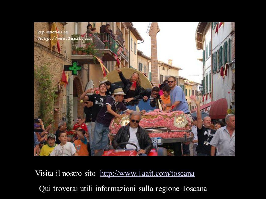 Visita il nostro sito http://www.1aait.com/toscanahttp://www.1aait.com/toscana Qui troverai utili informazioni sulla regione Toscana