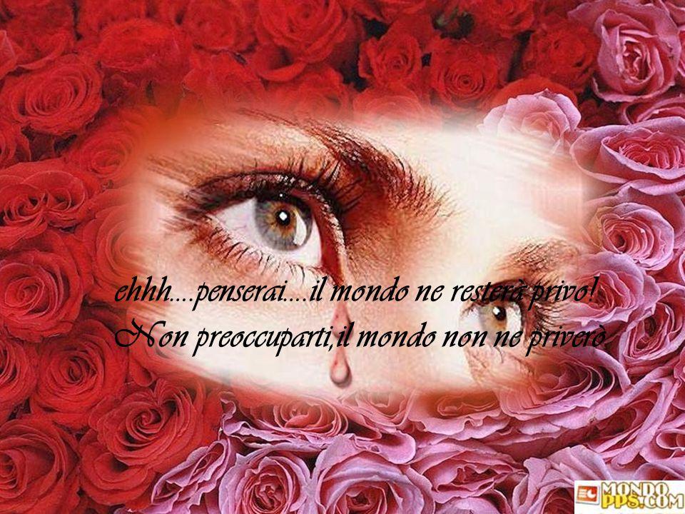 Tutto sommato credo che non ti dirò niente…. mi limiterò a regalarti una rosa per ogni volta che non ti ho detto : Ti voglio bene!