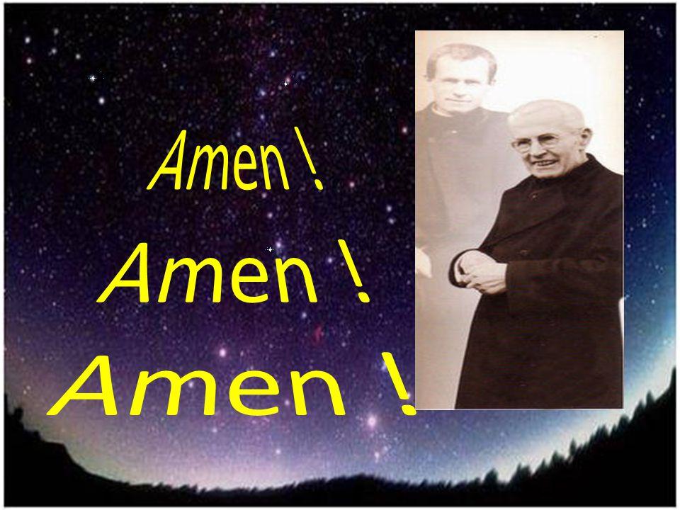 Guarda le stelle del cielo, Alberione uomo di Dio, conta i granelli di sabbia: così sarà, la tua famiglia !