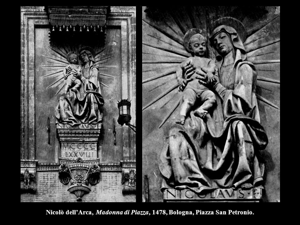 Nicolò dell'Arca, Madonna di Piazza, 1478, Bologna, Piazza San Petronio.