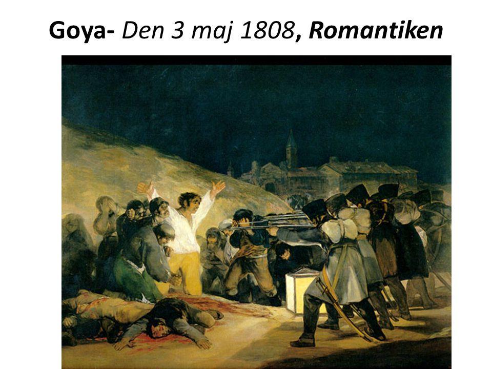 Goya- Den 3 maj 1808, Romantiken