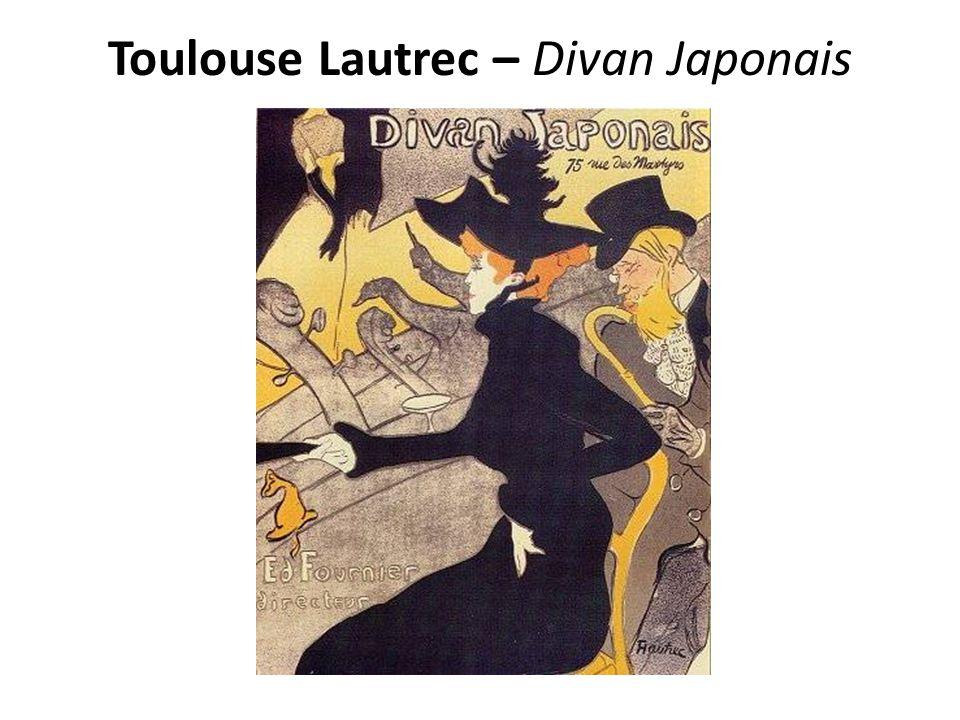 Toulouse Lautrec – Divan Japonais