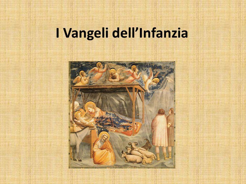 Si chiamano Vangeli dell'infanzia i primi due capitoli dei Vangelo di Matteo e di Luca.