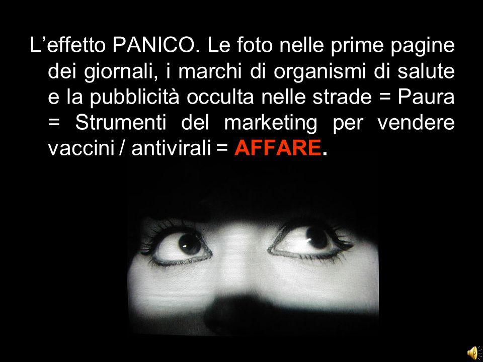 L'effetto PANICO.