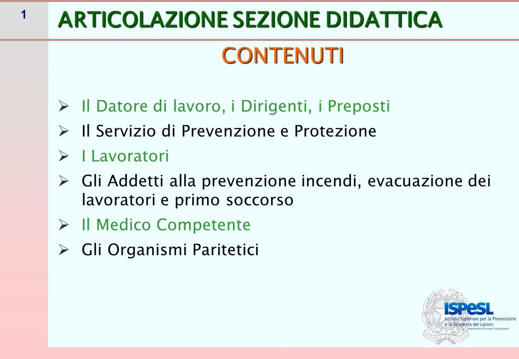 32 IL CORSO DI FORMAZIONE PER RSPP/ASPP MOD.A: 28 ORE:normativo MOD.