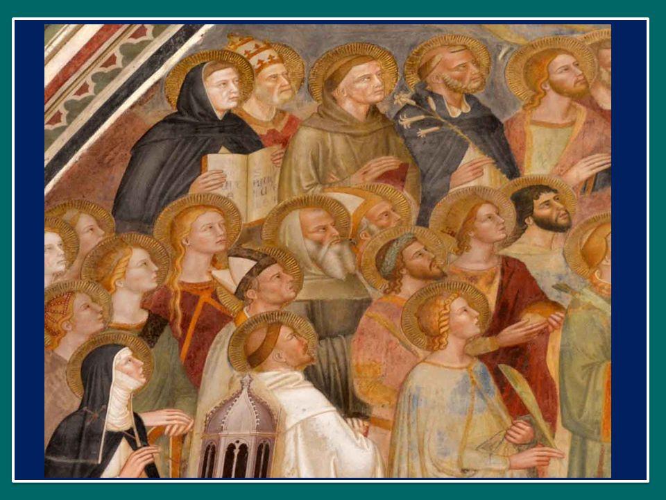 Questa meravigliosa comunione, questa meravigliosa unione comune tra terra e cielo si attua nel modo più alto ed intenso nella Liturgia, e soprattutto nella celebrazione dell'Eucaristia, che esprime e realizza la più profonda unione tra i membri della Chiesa.