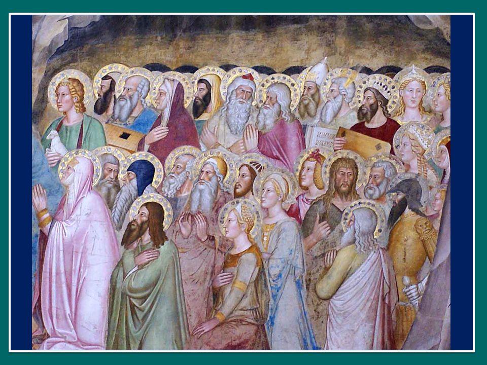 Nell'Eucaristia, infatti, noi incontriamo Gesù vivo e la sua forza, e attraverso di Lui entriamo in comunione con i nostri fratelli nella fede: quelli che vivono con noi qui in terra e quelli che ci hanno preceduto nell'altra vita, la vita senza fine.