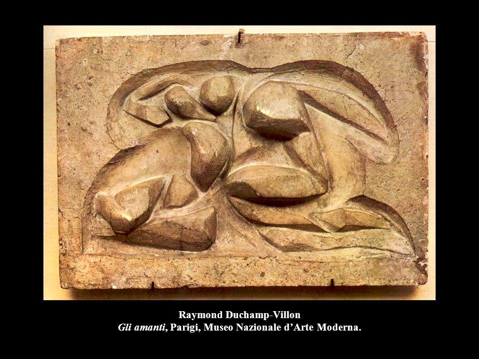Raymond Duchamp-Villon Gli amanti, Parigi, Museo Nazionale d'Arte Moderna.